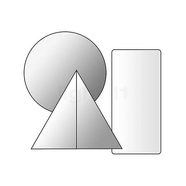 Prandina Decentrale plafondbevestiging voor Prandina hanglampen