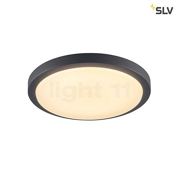SLV Ainos Applique/Plafonnier LED avec détecteur de mouvements