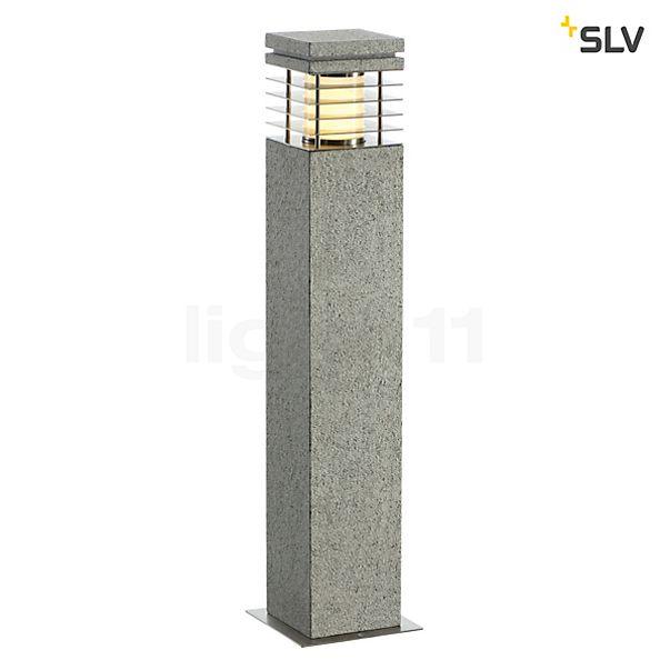 SLV Arrock Granite Bollard light, angular