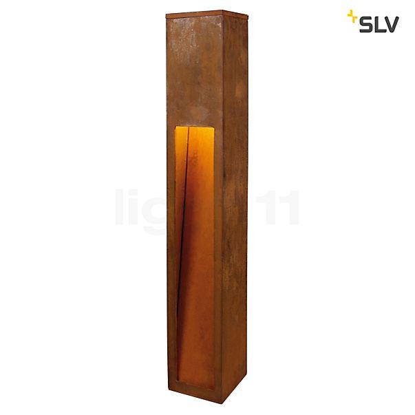 SLV Rusty Slot Bollard light