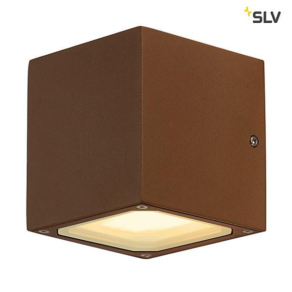 SLV Sitra Cube Wandleuchte, Würfelförmig, Gx53