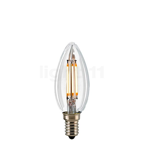 Sigor C35-dim 4,5W/c 827, E14 Filament LED