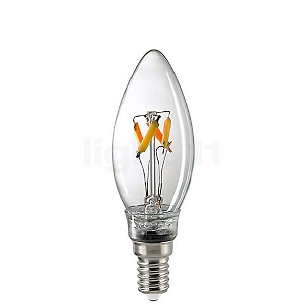 Sigor C35-dim 4,5W/c 827, E14 dim-to-warm Filament LED