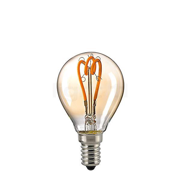Sigor D45/gd-dim 3,5W/c 827, E14 Filament LED curved