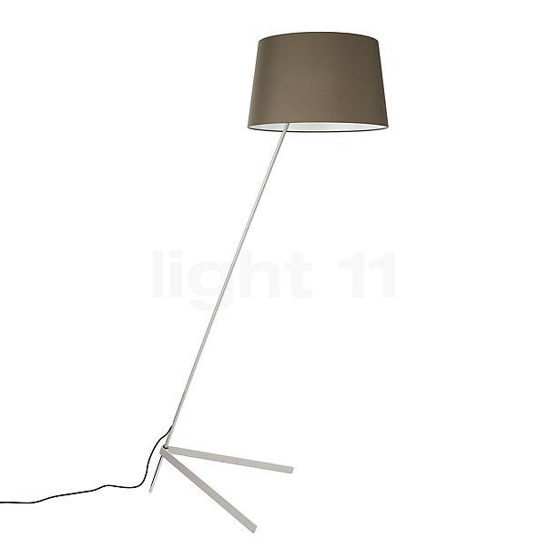 Steng Licht Stick Lampada da terra, piede argento