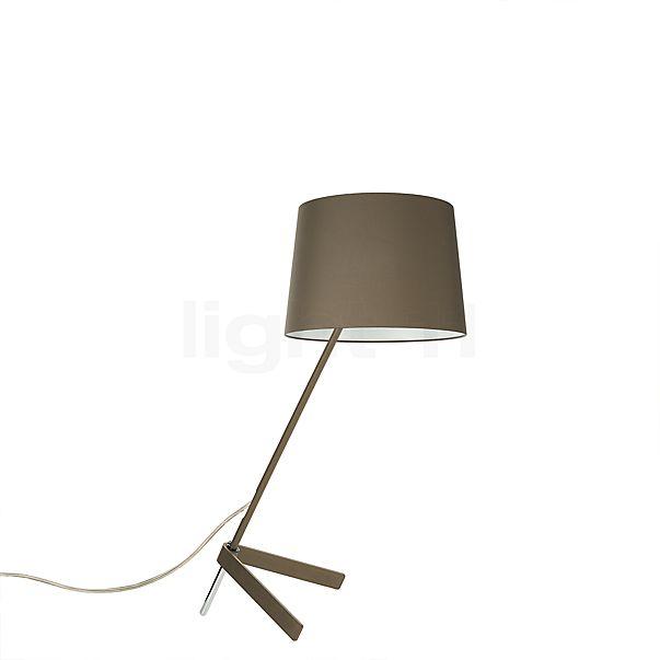 Steng Licht Stick Tafellamp, voet kastanje