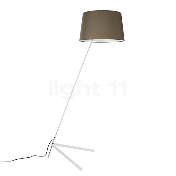 Steng Licht Stick Vloerlamp, voet wit