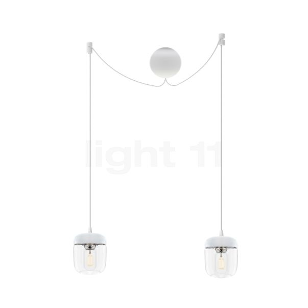 UMAGE Acorn Cannonball Hanglamp 2-lichts wit
