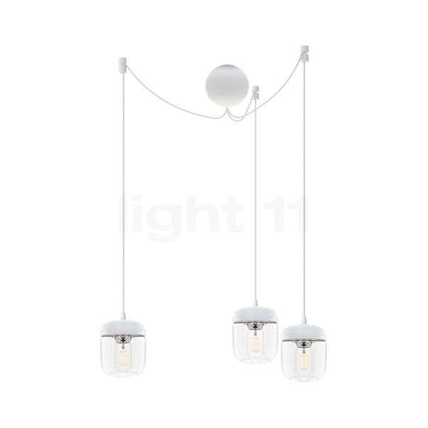 UMAGE Acorn Cannonball Hanglamp 3-lichts wit