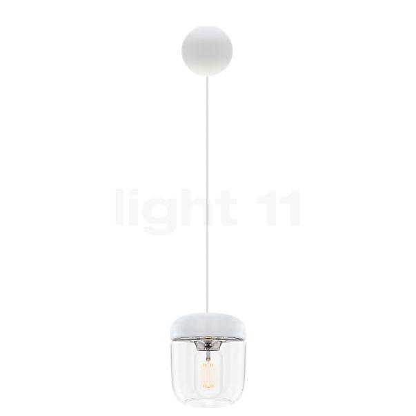 UMAGE Acorn Cannonball Lampada a sospensione bianca