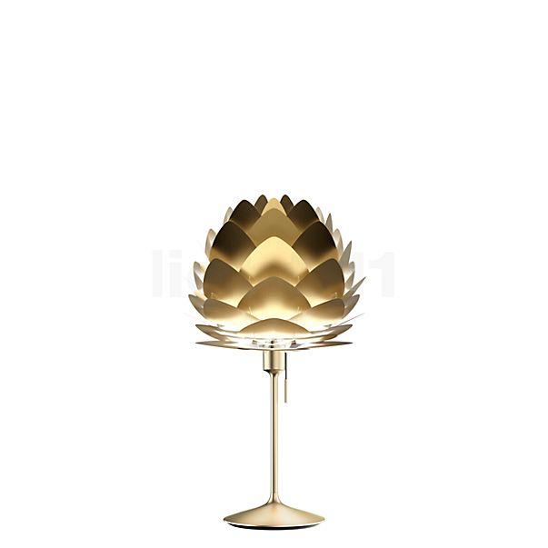 UMAGE Aluvia, lámpara de sobremesa Champagne en latón