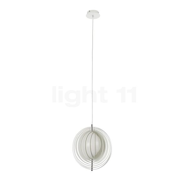 Verpan Moon Pendant light in the 3D viewing mode for a closer look