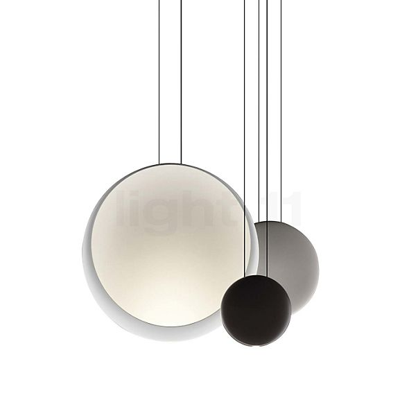 Vibia Cosmos Pendant Light Up- & Downlight with 3 lamps LED