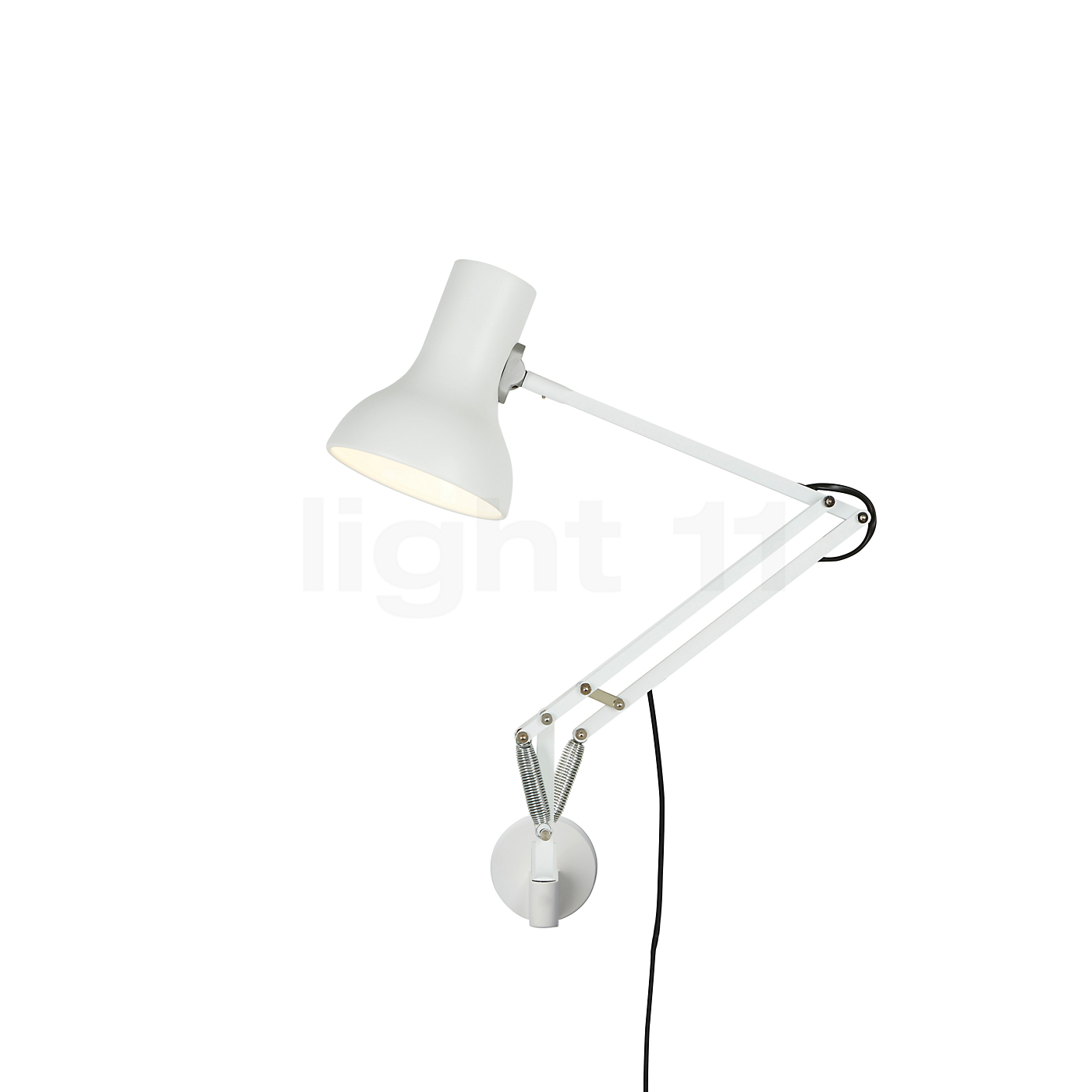 anglepoise type 75 mini lampe de bureau avec fixation murale. Black Bedroom Furniture Sets. Home Design Ideas